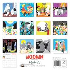 Moomin Wall Calendar 2021 (Art Calendar)