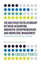 The Multifaceted Relationship Between Accounting, Innovative Entrepreneurship, and Knowledge Management