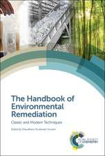 The Handbook of Environmental Remediation: Classic and Modern Techniques