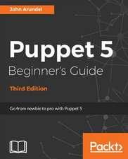 Puppet 5 Beginner's Guide
