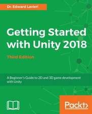 Getting Started with Unity 2018 - Third Edition