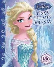 Disney Frozen: Elsa's Activity Journal