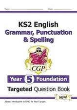 NEW KS2 ENGLISH TARGETED QUESTION BOOK G