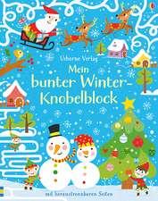 Mein bunter Winter-Knobelblock