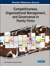Competitiveness, Organizational Management, and Governance in Family Firms