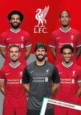Official Liverpool FC A3 Calendar 2022