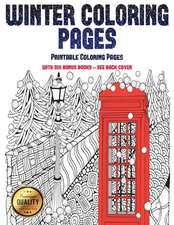 Printable coloring Pages (Winter Coloring Pages)