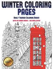 Adult Themed Coloring Books (Winter Coloring Pages)
