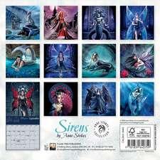 Sirens by Anne Stokes Mini Wall calendar 2021 (Art Calendar)