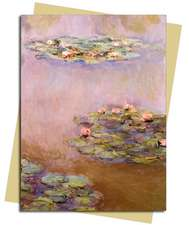 Water Lilies (Monet) Greeting Card: Pack of 6