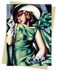 Tamara de Lempicka: Young Lady with Gloves, 1930 Greeting Card: Pack of 6