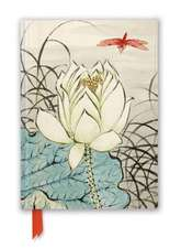 Ashmolean: Ren Xiong: Lotus Flower and Dragonfly (Foiled Journal)
