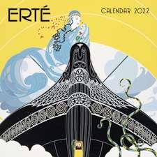 Erté Wall Calendar 2022 (Art Calendar)