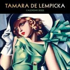 Tamara de Lempicka Mini Wall calendar 2022 (Art Calendar)