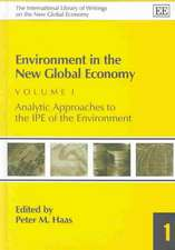 Environment in the New Global Economy