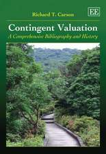Contingent Valuation – A Comprehensive Bibliography and History