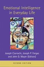 Emotional Intelligence in Everyday Life, 2nd Edition:  Advances and Future Progress