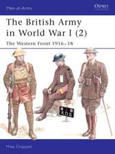 The British Army in World War I (2): The Western Front 1916–18