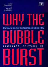 Why the Bubble Burst