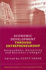 Economic Development Through Entrepreneurship: Government, University And Business Linkages