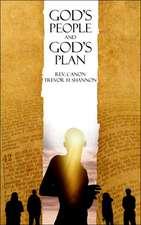God's People and God's Plan