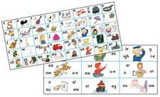 Jolly Phonics Letter Sound Strips in Print Letters