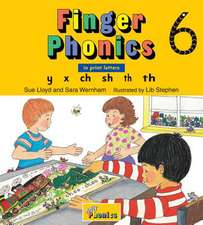 Finger Phonics 6:  In Print Letters