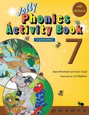Jolly Phonics Activity Book 7 (in Print Letters)