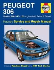 Peugeot 306 Petrol and Diesel Service and Repair Manual: Peugeot 306 Petrol & Diesel (93 - 02) K to 02