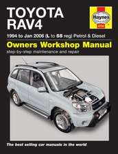 Toyota RAV4 Repair Manual: Toyota RAV4 Petrol & Diesel (94 - Jan 06) L to 55