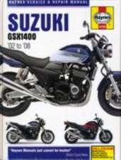 Suzuki GSX 1400, '02 to '08: Haynes Service & Repair Manual