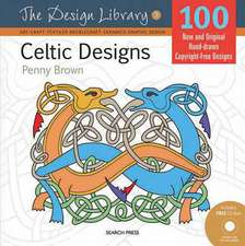 Celtic Designs [With CDROM]:  A Step-By-Step Guide to Surface Stitching Techniques