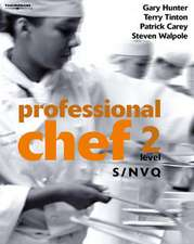Professional Chef - Level 2 - S/NVQ