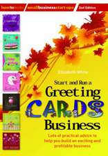 Start and Run a Greeting Cards Business