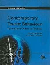Contemporary Tourist Behaviour
