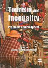 Tourism and Inequality:  Problems and Prospects