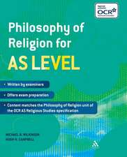 Wilkinson, M: Philosophy of Religion for AS Level