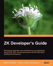 Zk Developer's Guide:  Oracle Database 10g Development with Visual Studio 2005 and the Oracle Data Provider for .Net