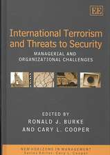 International Terrorism and Threats to Security