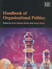 Handbook of Organizational Politics