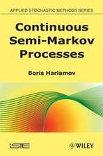 Continuous Semi–Markov Processes