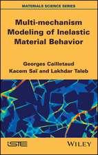 Multi–mechanism Modeling of Inelastic Material Behavior