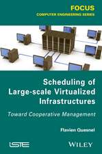 Scheduling of Large–scale Virtualized Infrastructures: Toward Cooperative Management