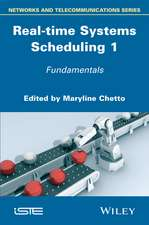 Real–time Systems Scheduling