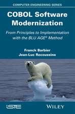 COBOL Software Modernization