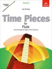 Time Pieces for Flute, Volume 3: Music through the Ages in 3 Volumes