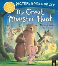 Great Monster Hunt Book & CD