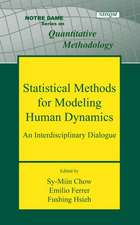 Statistical Methods for Modeling Human Dynamics:  An Interdisciplinary Dialogue