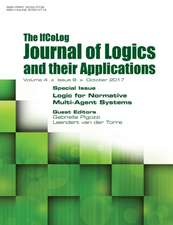 Ifcolog Journal of Logics and their Applications Volume 4, number 9. Logic for Normative Multi-Agent Systems