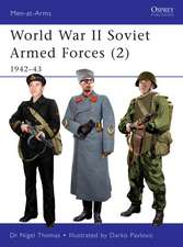 World War II Soviet Armed Forces (2): 1942–43